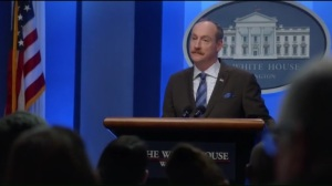 Inauguration- Mike takes questions from the press