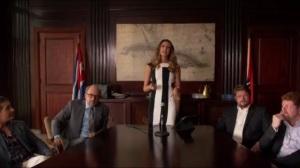No es Facil- Monica makes her case to the Cuban representatives