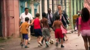 No es Facil- Pod plays futbol with some kids