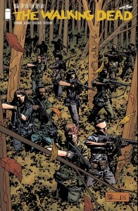 The Walking Dead #155- Cover
