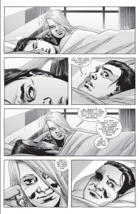 The Walking Dead #155- Lydia watches Carl