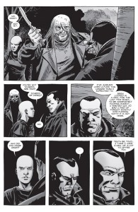 The Walking Dead #155- Negan has an offer for Alpha