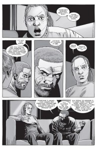 The Walking Dead #155- Rick and Andre debate the Whisperer propaganda
