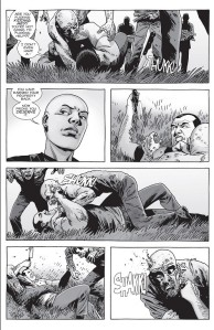 The Walking Dead #156- Alpha tells Negan to prove that he deserves to stay