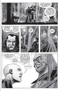 The Walking Dead #156- Beta disapproves of Negan
