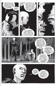 The Walking Dead #156- Negan and Alpha argue