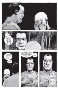 The Walking Dead #156- Negan talks to Alpha about losing someone close to him