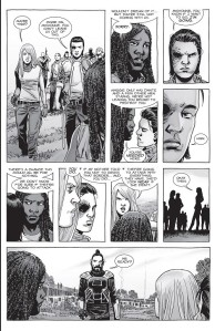 The Walking Dead #157- Hilltop group plans to head out