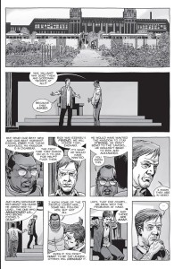 The Walking Dead #157- Kingdom residents discuss the war