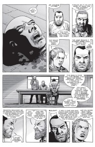 The Walking Dead #157- Negan negotiates with Rick and Andrea