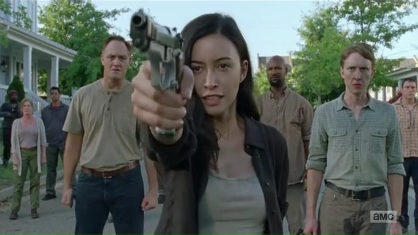 a look at the walking dead season 7 episode 8 �hearts
