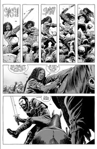 the-walking-dead-163-michonne-and-jesus-plan-to-cut-down-a-few-roamers-at-a-time