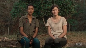 The First Day of the Rest of Your Life- Sasha and Maggie- The Walking Dead, AMC
