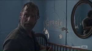 The Damned- Rick realizes he just killed a child's father- AMC, The Walking Dead