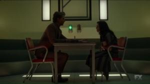 Clark asks Lenny for her real name Legion FX Marvel