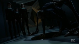 Chapter 15- Creature crawls out of Ptonomy's body- Legion FX Marvel
