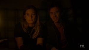 Chapter 16- David and Syd in the tent- Legion FX Marvel