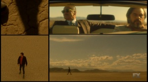Chapter 16- David in the desert while Farouk and Oliver go for a drive- Legion FX Marvel