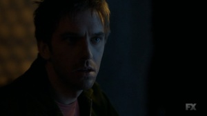 Chapter 16- David tells Lenny that she's really at Division Three, not with Farouk- Legion FX Marvel