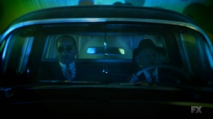Chapter 16- Farouk and the old woman go for a drive- Legion FX Marvel