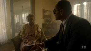 Chapter 16- Farouk tells the old woman that the professor isn't here- Legion FX Marvel
