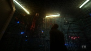 Chapter 16- Ptonomy finds the monk inside the mainframe- Legion FX Marvel