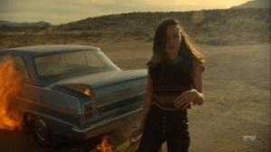 Chapter 17- Lenny retrieves the case from the burning car- Legion FX Marvel