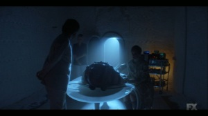 Chapter 17- Oliver and Melanie observe the diving suit- Legion FX Marvel