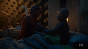 Chapter 17- Oliver appears in Melanie's room- Legion FX Marvel