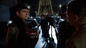 No Man's Land- Harvey and Jim learn that a GCPD transport van came by already- Gotham Fox DC