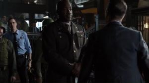No Man's Land- Jim is introduced to Major Rodney Harlan, played by Malik Yoba- Gotham Fox DC