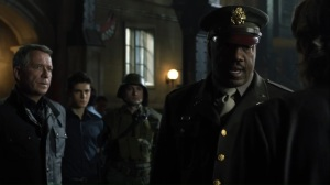 No Man's Land- Major Harlan brings Alfred and Bruce into the precinct- Gotham Fox DC