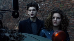 One Bad Day- Bruce and Selina arrive at the address that Jeremiah provided