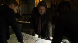 One Bad Day- Jim, Harvey, and Lucius go over the plan to stop the bombs