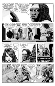 The Walking Dead #179- Magna disagrees with the Commonwealth's class system