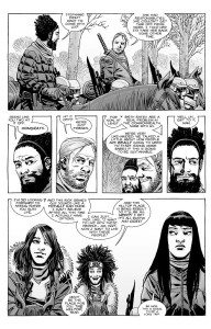 The Walking Dead #179- Magna thinks that Princess should live at the Hilltop