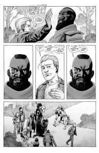 The Walking Dead #179- Sebastian hits Mercer