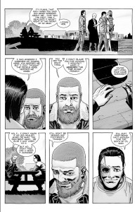 The Walking Dead #182- Rick and Carl catch up