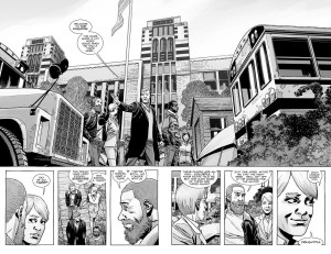 The Walking Dead #182- Rick and Pamela arrive at the Kingdom