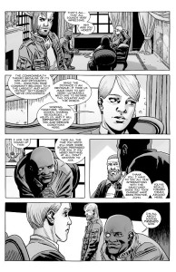 The Walking Dead #182- Rick introduces Pamela to John at the Sanctuary