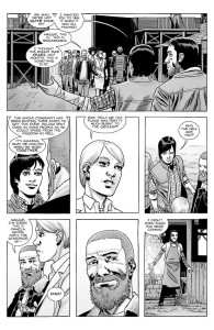 The Walking Dead #182- Rick introduces Pamela to Maggie at the Hilltop