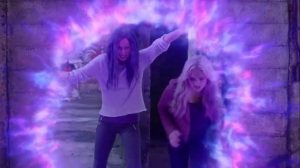 eMergence- Blink creates portal so Lauren can help rescue the mutants