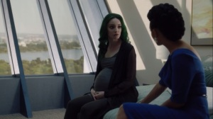 eMergence- Reeva tells Polaris that she understand what it's like to feel alone