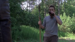 A New Beginning- Aaron receives a transmission while on the road with Jesus- The Walking Dead