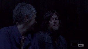 A New Beginning- Carol and Daryl talk about Ezekiel- The Walking Dead