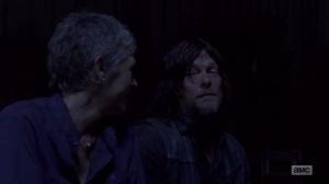 A New Beginning- Carol and Daryl talk about Ezekiel- The Walking Dead