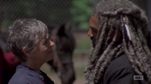 A New Beginning- Carol bids farewell to Ezekiel- The Walking Dead