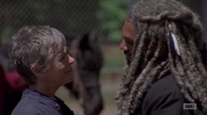 A New Beginning- Carol bids farewell to Ezekiel- The Walking Dead