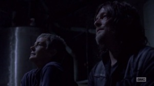 A New Beginning- Carol tells Daryl that Ezekiel proposed to her- The Walking Dead