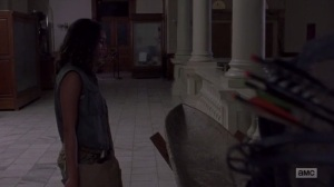 A New Beginning- Cyndie tells Daryl about memories of her brother- The Walking Dead